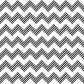 Seamless geometric zigzag pattern. — Vector de stock
