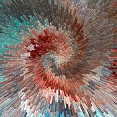 Burst. Abstract textured background. — Stock Photo