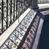 Lattice shadows pattern. — Stock Photo