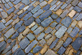 Stone paving pattern. Abstract structured background. — Stock Photo