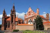 St. Anna's Church in Vilnius, Lithuania. — Stock Photo