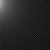 Abstraits poutres radiales diagonales sur fond noir. — Vecteur