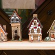Ceramic houses. - Stock Photo