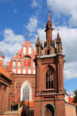 St. Anna's Church in Vilnius, Lithuania. — Stock Photo