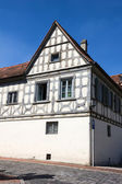 An old house in Bamberg, Germany. — Stock Photo