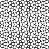 Textura sin fisuras con elementos del círculo. — Vector de stock