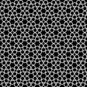 Bezešvá textura s kruhem prvky. — Stock vektor