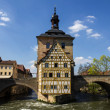 Stock Photo: Town Hall in Bamberg, Germany.