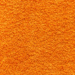 Stock Photo: Orange towel texture.