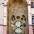 Astronomical clock in Olomouc, Czech Republic. — Stock Photo