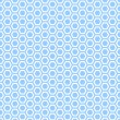 Seamless hexagons blue texture. — Stock Vector