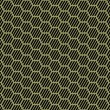 Seamless hexagons texture. Honeycomb repeatable pattern.   — Stock Vector