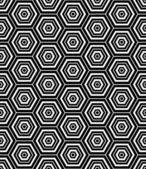 Hexagons texture. Seamless geometric pattern. — Cтоковый вектор