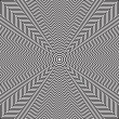 Постер, плакат: Optical illusion of rotation movement