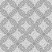 Seamless geometric circles pattern.  — Stock Vector