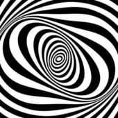 Whirl movement illusion. Op art design. .  — Stock Photo