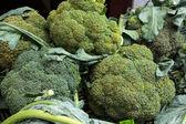Broccoli at vegetable market. — ストック写真