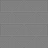 Seamless geometric op art texture.  — Stock Vector
