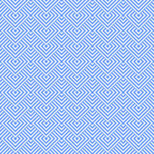 Seamless blue geometric texture. — Stock Vector