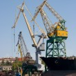 Stock Photo: Industrial Port