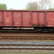Freight train — Stock Video