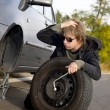 Changing tires — Stock Photo #14395503
