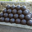 Stock Photo: Cannon balls