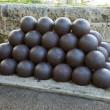 Cannon balls — Stock Photo #23951533