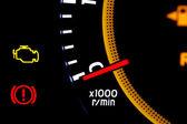 Hız göstergesi — Stok fotoğraf