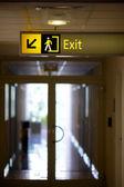 Exit — Stock Photo