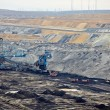 Stock Photo: Open pit mining of coal