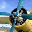 Stock Photo: Old Plane