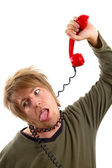Phone hang — Stock Photo
