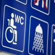 Wc sign — Stock Photo #33693693