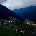 Alpine Valley — Stock Photo