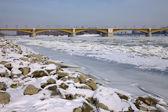 Winter Danube — Zdjęcie stockowe