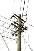 Electric lines — Stock Photo