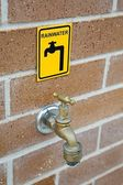 Rainwater Tap — Stock Photo