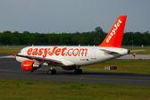 Plane taxiing — Stock Photo