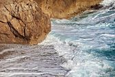 Waves ashore — Стоковое фото
