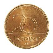 Moneda húngara — Foto de Stock