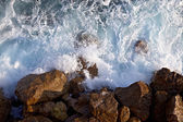 Waves ashore — Foto Stock