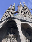 View of the Sagrada Familia — Stock Photo