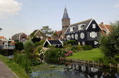 Marken, traditional dutch village, Netherlands — Stock Photo
