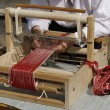 Stock Photo: Old fashioned loom