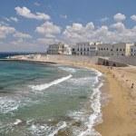 Beach in Gallipoli, Italy — Stock Photo #28501699