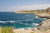 Coastine paisagem em salento, puglia. itália — Foto Stock