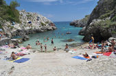 Cala Acquaviva beach — Stock fotografie