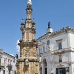 Nardo square, Apulia, Italy. — Stock Photo