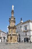 Nardo náměstí, apulie, itálie. — Stock fotografie